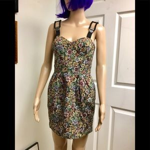 NWT BCBGeneration jacquard dress size 4